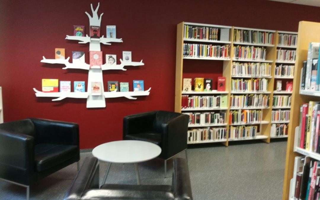 Biblioteket åpner igjen!