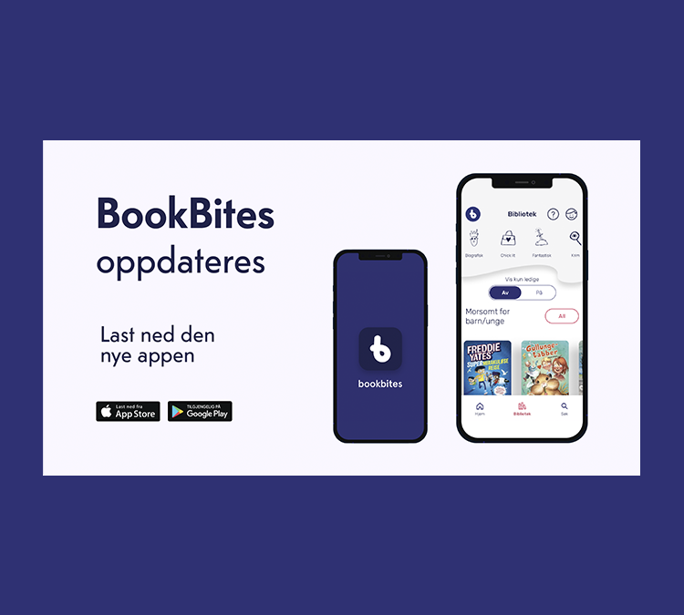 Bookbites i ny drakt